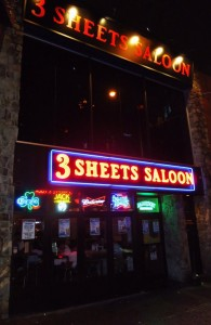 3 Sheets Saloon - exterior