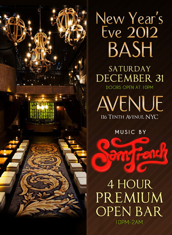 New Year's Eve at Avenue
