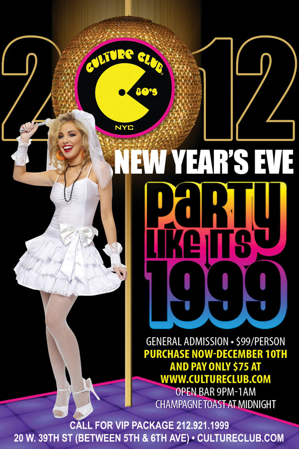 New Year's eve at Culture Club
