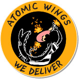 Atomic Wings at Down the Hatch