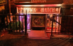 Down the Hatch - exterior