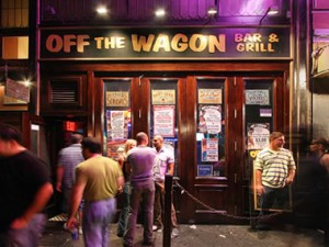 Off the Wagon - exterior
