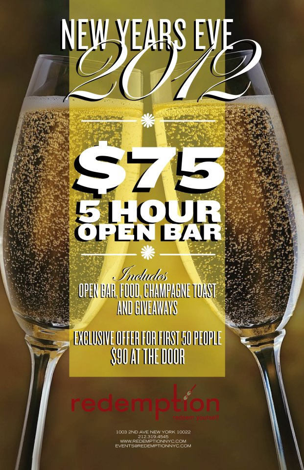 New Year's Eve at Redemption