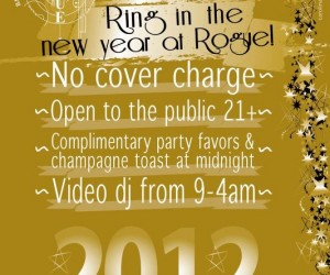 New Year's Eve at Rogue NYC