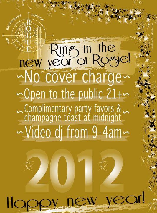 New Year's Eve at Rogue NYC