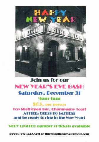 New Year's Eve at Third & Long