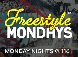 Freestyle Mondays at 116 MacDougal