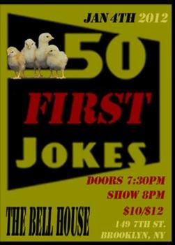 50 First Jokes 2012