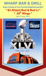 Super Bowl at Wharf NYC