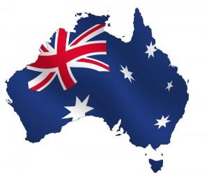 Australia as a flag