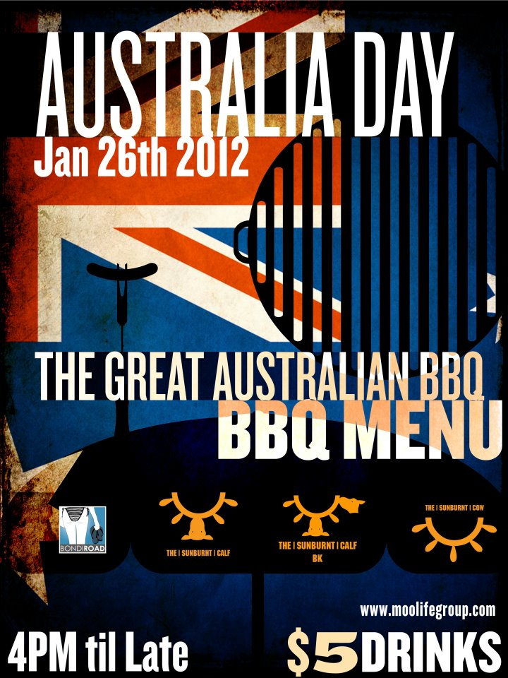 Australia Day at The Sunburnt Cow NYC