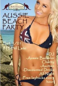 Australian Beach Party