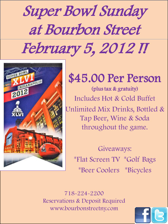 Super Bowl at Bourbon Street