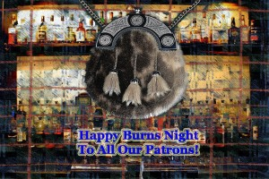 Burns Night at Caledonia