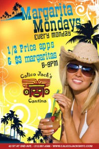 Margarita Mondays at Calico Jack's