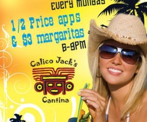 Margarita Mondays at Calico Jack's