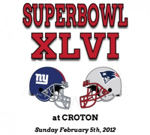 Super Bowl XLVI at Croton NYC