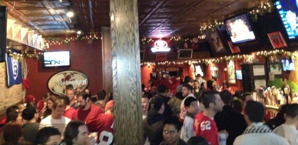 49ers game watch at Finnerty's