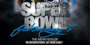 Super Bowl Sunday at The Mean Fiddler