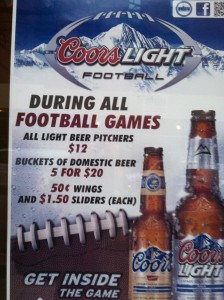 Super Bowl Sunday at Molly Pitcher's Ale House