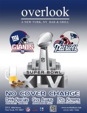 Super Bowl XLVI at Overlook NYC