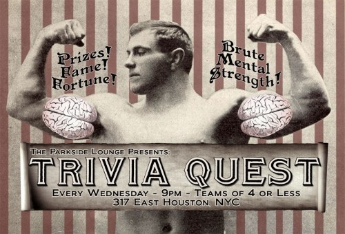 Trivia at Parkside Lounge