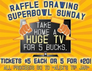 Super Bowl Sunday at Parkside Lounge