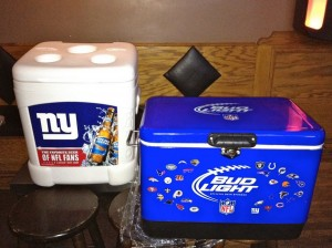 Bud Light coolers