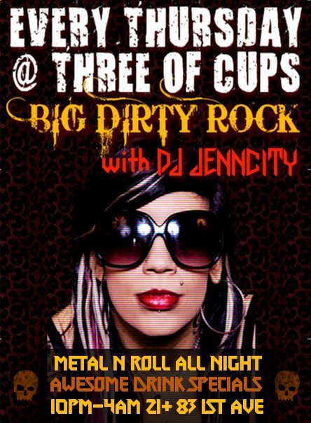 Thursdays at Three of Cups NYC