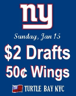 Giants Game Watch party at Turtle Bay