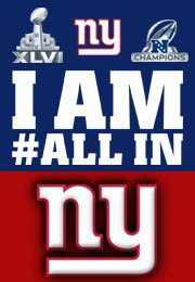 NY Giants - I am all in