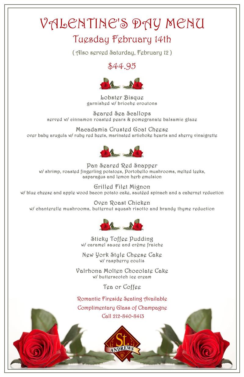 Valentine S Dinner 2012 Murphguide Nyc Bar Guide