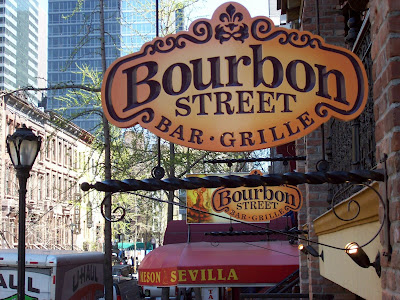 New bar bourbon street opens on restaurant row for Bourbon street fish