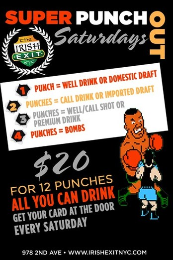 Super Punch Out Saturdays