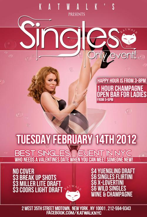 Singles Only Event At Katwalk MurphGuide NYC Bar Guide