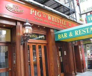Pig n Whistle Times Square