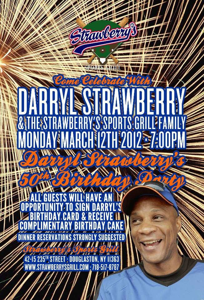Darryl Strawberry's Birthday
