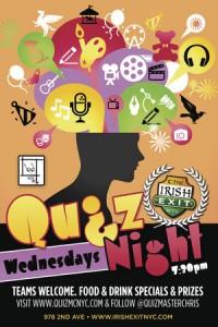 Quiz Night at The Irish Exit
