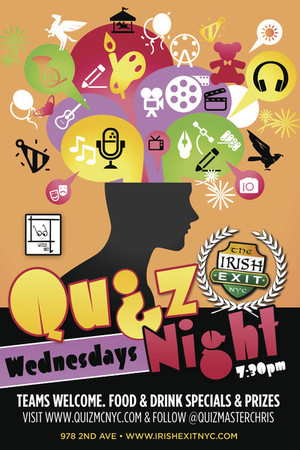Quiz Night at The Irish Exit