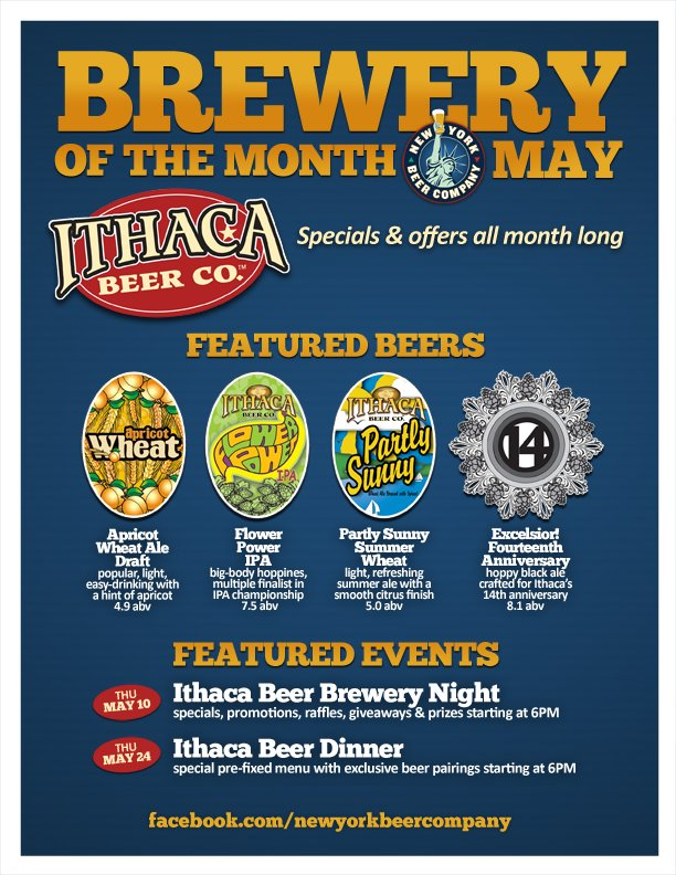 Brewery of the Month at NY Beer Company