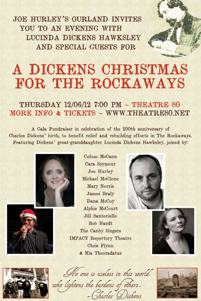 A Christmas Carol Nyc.A Christmas Carol For The Rockaways At Theatre 80