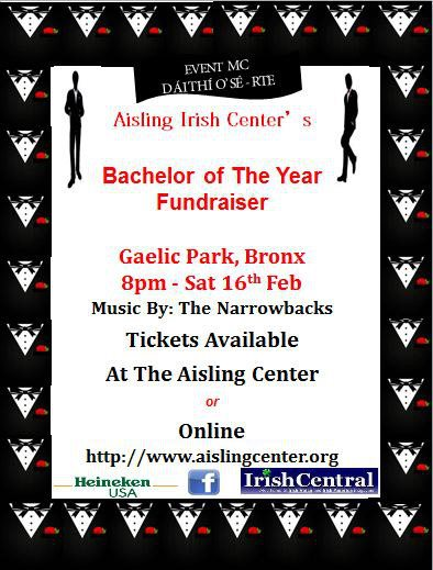 Bachelor Of The Year Fundraiser At Gaelic Park