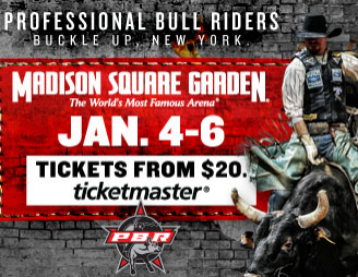 Pbr at msg professional bull riders jan 4 6 murphguide nyc bar guide for Sports bars near madison square garden