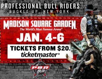 Pbr At Msg Professional Bull Riders Jan 4 6