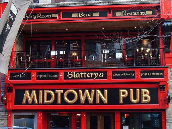 10 lunch special at slattery 39 s midtown pub murphguide nyc bar guide. Black Bedroom Furniture Sets. Home Design Ideas