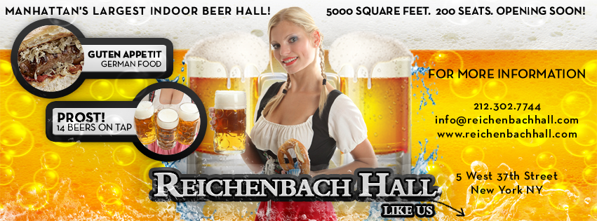 Oktoberfest at Reichenbach Hall