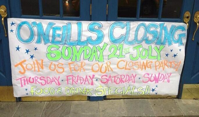 oneills-closing