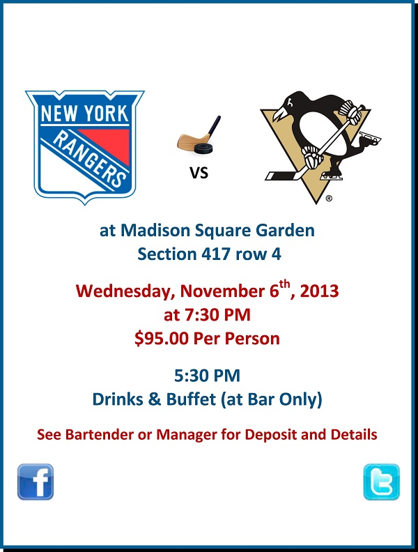 See The Rangers With 2 Queens Bars Murphguide Nyc Bar Guide