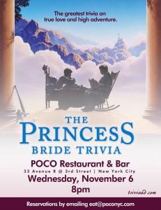 princess bride trivia at poco murphguide nyc bar guide