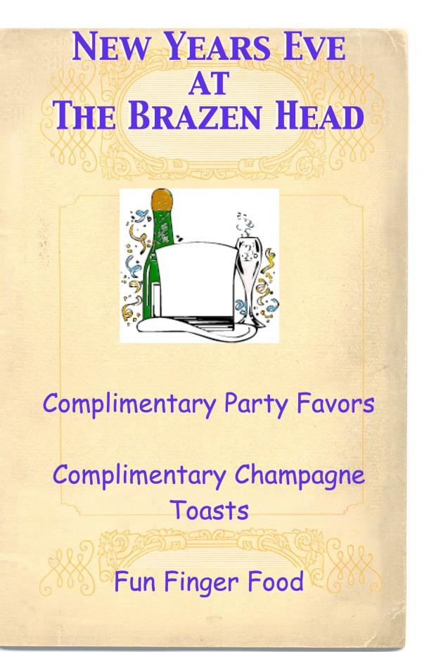 BrazenHead_NewYearsEve2014